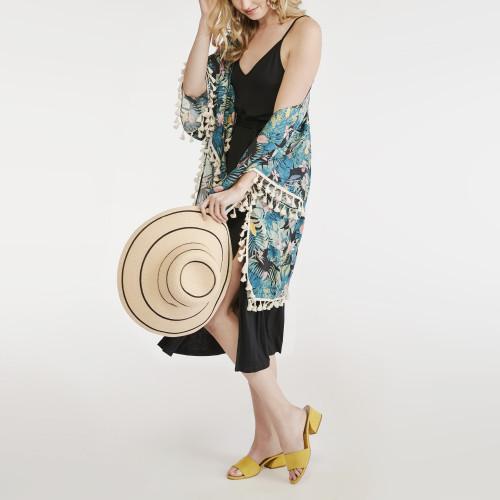 resort wear: kimono