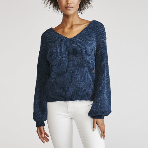 winter wardrobe: chenille sweater