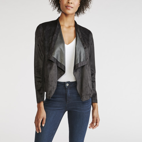 winter wardrobe: draped jacket