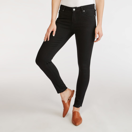 winter wardrobe: black jeans