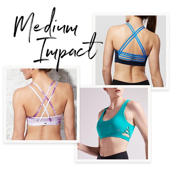 Medium Impact Sports Bras