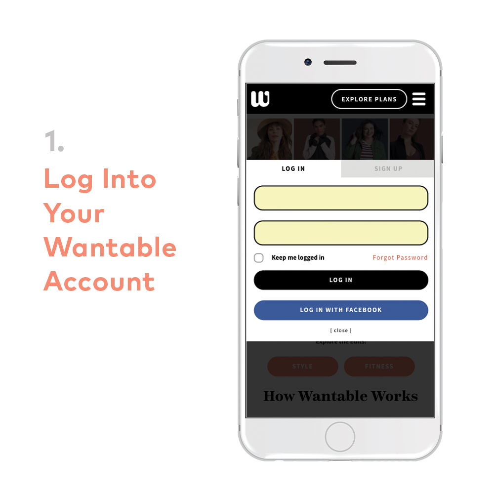 Wantable quiz login