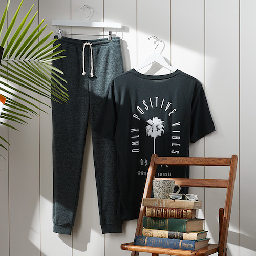 Spiritual Gangster Tee with Cotton Jogger Pants - Men's Clothing Subscription - Wantable