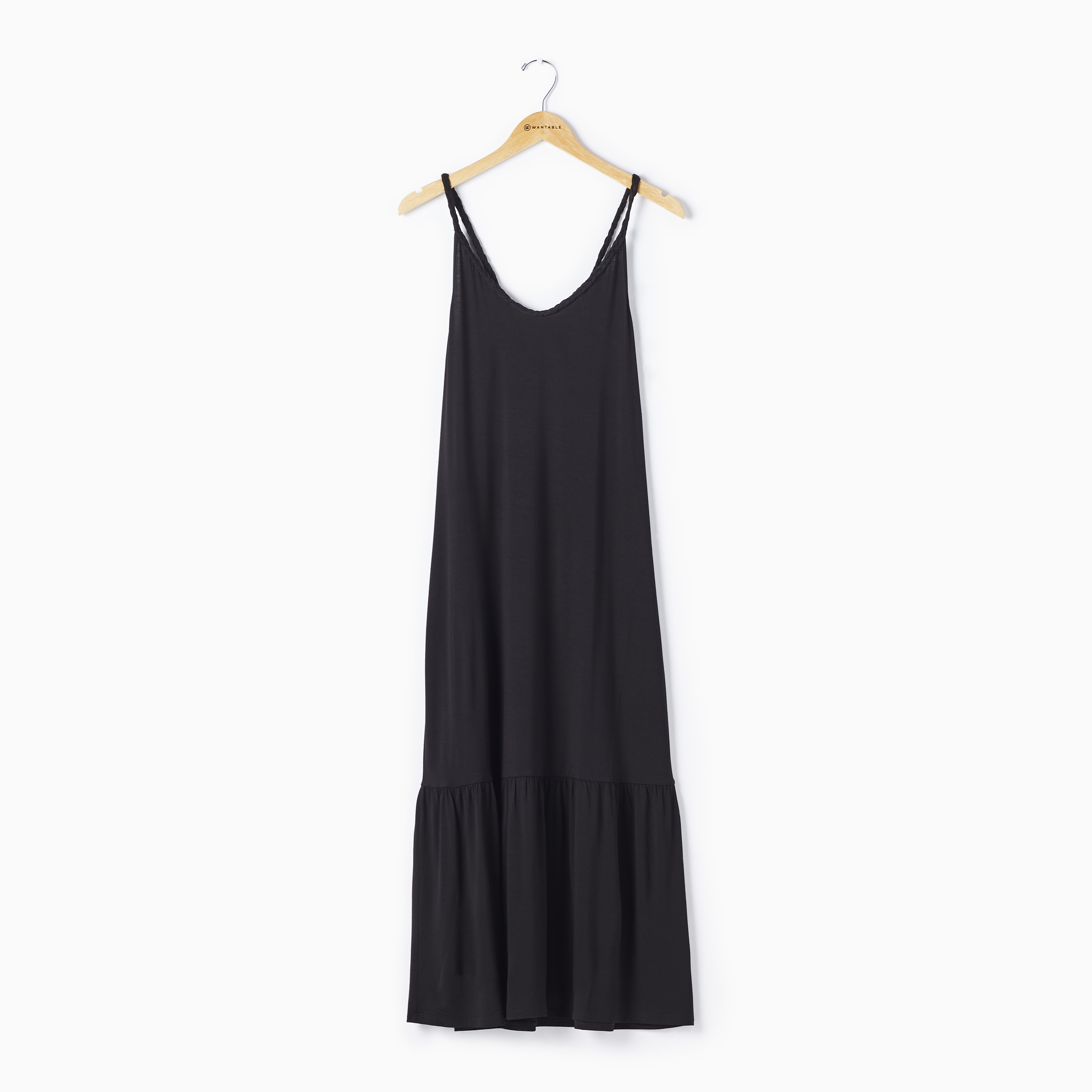 Black Maxi Dress on a Hanger - Casual Summer Dress by Another Love